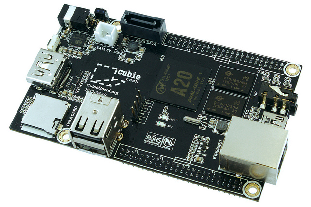 Cubieboard 2 - CC-BY-SA flickr ghalfacree